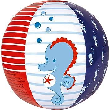 Balón pelota de agua hinchable Caballito de Mar BabyGlück 25cm ...