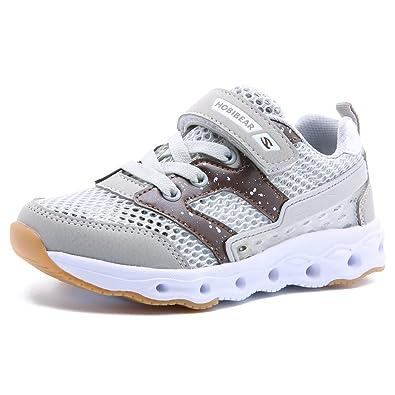 Turnschuhe Kinder Sneaker Jungen Sport Schuhe Mädchen Hallenschuhe Outdoor  Laufenschuhe Klettverschluss Low Top Sneakers Laufschuhe Ultraleicht a2f126965e