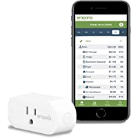 Emporia Smart Plug with Energy Monitoring | 15A WiFi Smart Outlet | Emporia App | Alexa | Google | ETL Certified…