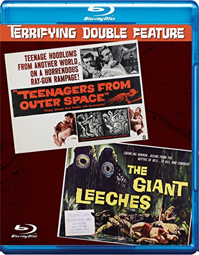 TEENAGERS FROM OUTER SPACE – THE GIANT LEECHES Blu-Ray