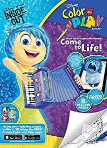 Amazon.com: Disney Pixar Inside Out Color and Play Come to ...