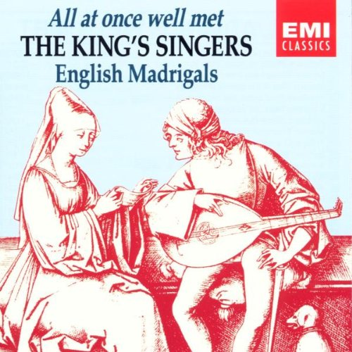 All At Once Well service Met: The English Madrigals; Singers King's Max 90% OFF