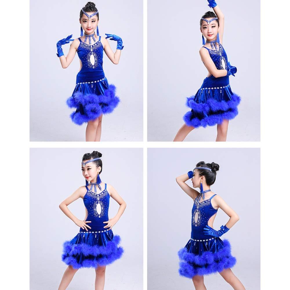 HEUFHU888 Tanzkostüm - Herbst und Winter Latin Dance Dance Dance Dress Game Dress Tanzrock B07L87D1SQ Bekleidung Ausgewählte Materialien b74fe1