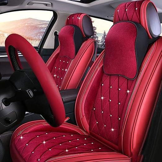 9 PIECE NAVY BLUE SPORTS SEAT COVERS  Hyundai i10 i20 i30 i40 Accent