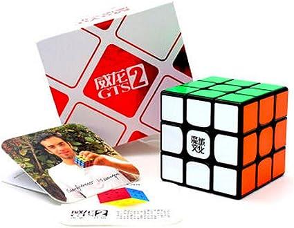 Original MoYu 3x3x3 Weilong GTS2 Ver II Magic Cube Puzzle Speed Cube Stickerless