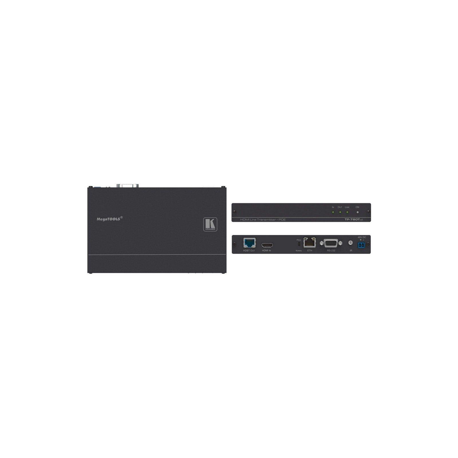 Kramer TP-780TXR   4K60 HDMI HDCP PoE HDBaseT Transmitter with Ethernet
