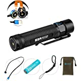 Olight 90 Lumens i3E EOS PMMA TIR lens AAA Flashlight [120 Lumens for Silver only] AAA Flashlight EDC Flashlight Compact Keychain Flashlite Updated Edition of i3s Keychain Light
