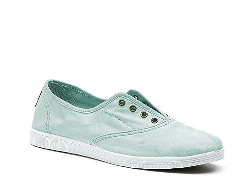 Natural World Eco - Zapatillas de algodón para mujer 550: Amazon.es: Zapatos y complementos