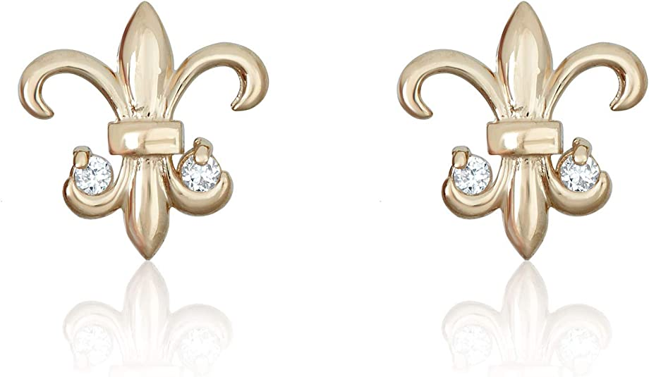 Natural Diamonds VS-F Yellow ar Withe Gold Exclusive Gold Woman Earrings Baby Foot Red 14k 585 or 18k 750 Handmade Jewelry High Quality