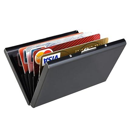 Titular de la Tarjeta de crédito de Metal, Danolt Clip de ...