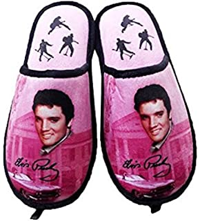 06ca426748e1d Amazon.com | Midsouth Products Elvis Presley Slippers Blue Suede ...