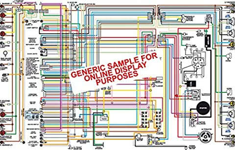 1957 Chevy 150 210 Belair Color Wiring Diagram 18