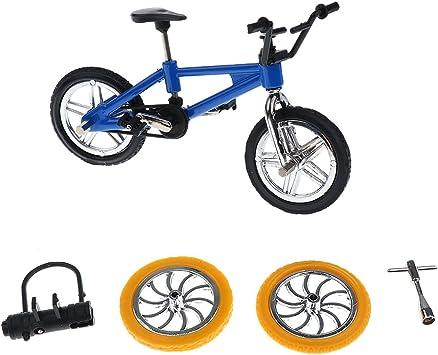 Juegos de Mesa Dedo de Bicicletas de Montana Fixie BMX Azul: Amazon.es: Juguetes y juegos