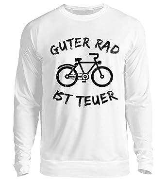 b1edb4f10db9 Guter Rad Ist Teuer T-Shirt Fahrrad Mountainbike Fixie Radfahrer  Fahrradliebhaber Geschenk - Unisex Pullover  Amazon.de  Bekleidung