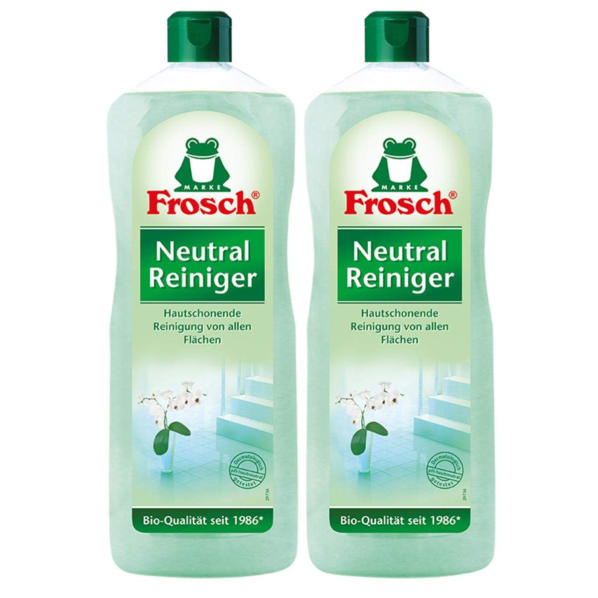 2 x litro de Reiniger1 neutral de rana: Amazon.es: Hogar