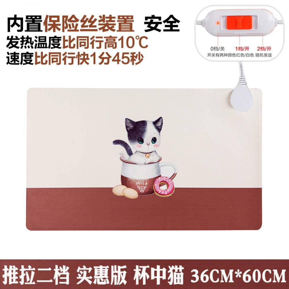 Haofengjing Alfombrilla Oficina Del Ratón Calefacción Mesa Caliente Estera La De La Estera Computadora Computadora Mano Calefacción De Escritorio Placa Eléctrica Estudiante Libro De Escritorio bd7a57