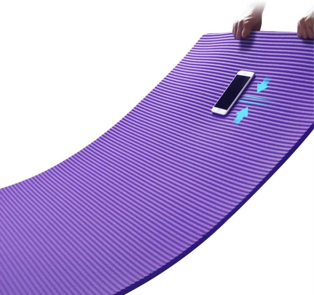 EverGreenPro Tapis de Yoga et Fitness antid/érapant Tapis dexercice Durable Tapis de Gymnastique en NBR mat/ériaux Recyclable Pliable Tapis de Sol pour Sport Yoga Musculation