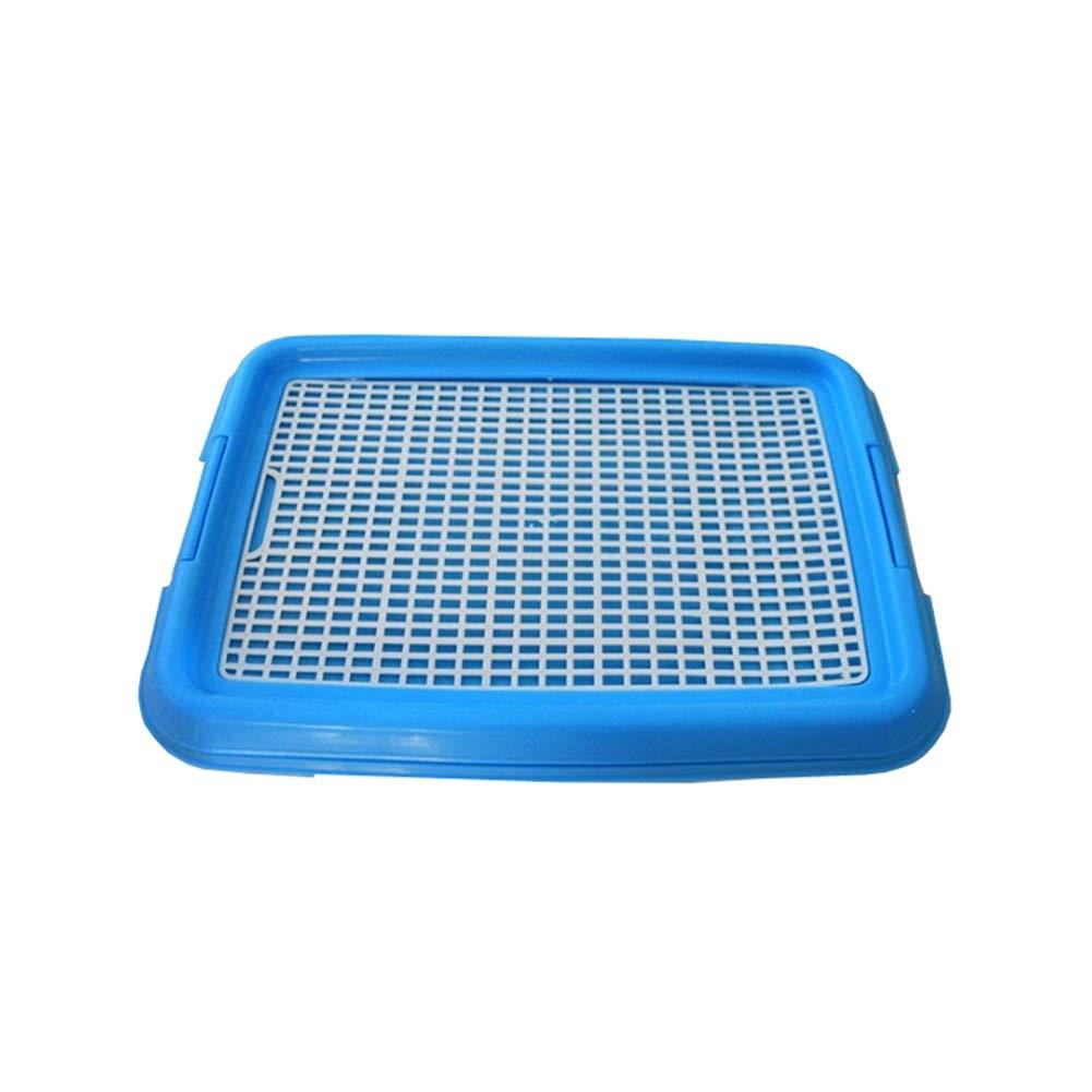Ryan Toilette per Cani, Adatta per L'uso Domestico Formazione da Interno per Animali Domestici Toilette per Cani per Cani di Piccola Taglia (colore   Blu)