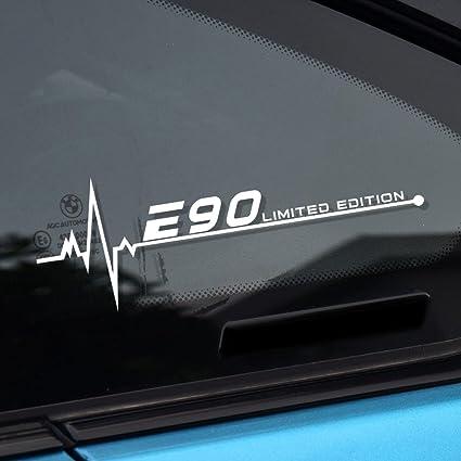 Amazoncom Charminghorse 2pcs Car Styling Reflective Window Decal