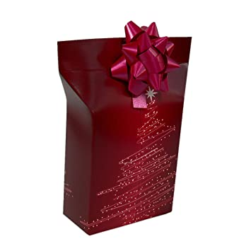 Trend Fin Ding Caja de Regalo con Roseta Papel de Regalo Regalo Caja de cartón Caja Caja Regalo del Paquete: Amazon.es: Juguetes y juegos