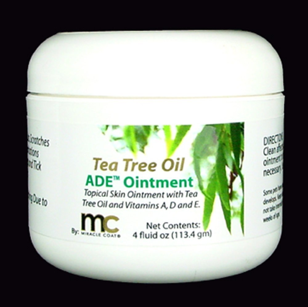 Miracle Coat Tea Tree Skin Care Ointment 4-Ounce by Miracle Coat