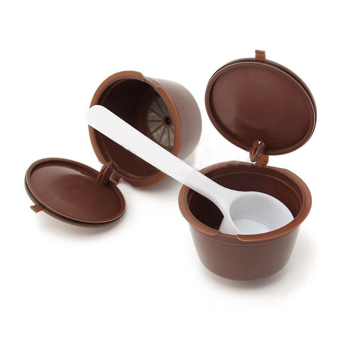 SODIAL (R) 7, rellenable, Cápsulas de Café para Dolce Gusto ...