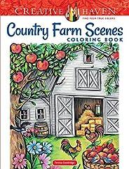 Creative Haven Country Farm Scenes Coloring Book