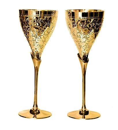 Buy Rastogi Handicrafts Brass Home Kitchen Drink Ware Set Gift Item