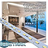 Aluminum LED Solid Strips - Interior Design Lighting - Natural Light - 4300K - 20 Sets (20M/65.6FT)