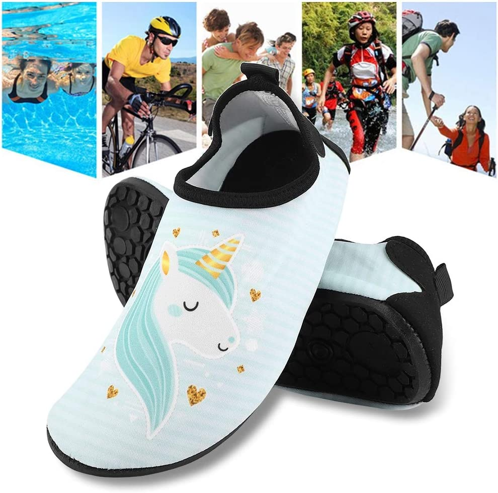 Children Beach Footwear Anti-Slip Quick Drying Kids Water Sports Shoes Summer Barefoot Shoes