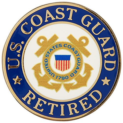 US Coast Guard Retired Hat or Lapel Pin