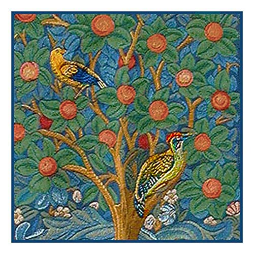 Orenco Originals Tree of Life detail by William Morris Counted Cross Stitch Pattern ()