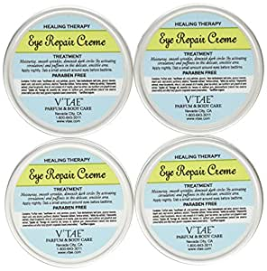 V'Tae Eye Repair Creme Restorative Eye Treatment, 15-Milliliter Bottles (Pack of 4)