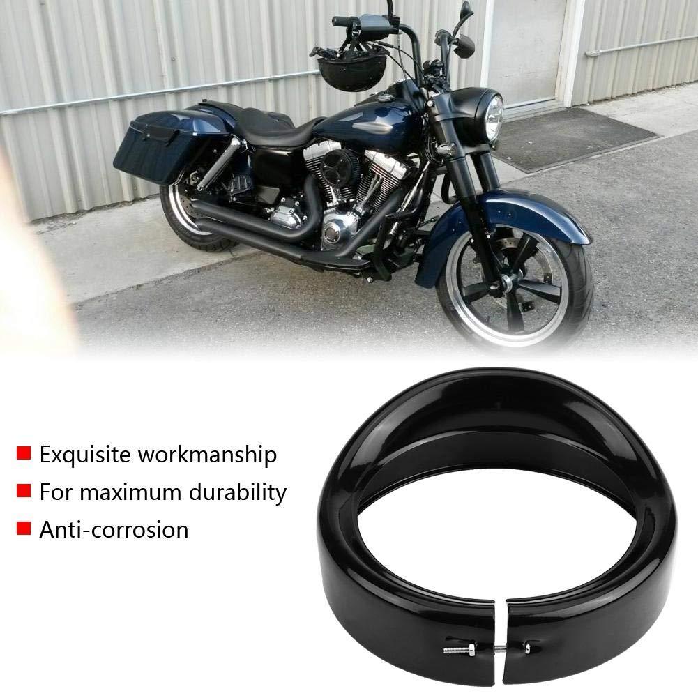 per FLD Trike Road King KIMISS Staffa di montaggio ad anello per fanali moto 17,8 cm