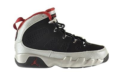 3bdfc2c62f6f Jordan 9 Retro (PS) Kilroy Little Kids Shoes Black Gym Red-Metallic