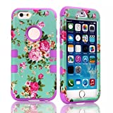 iPhone 6 case, iPhone 6 Cases, Gotida iPhone 6 Case 4.7 Inch Hybrid Impact Cover Hard Armor Shell and Soft Silicone Skin Layer skin cover case for iPhone 6