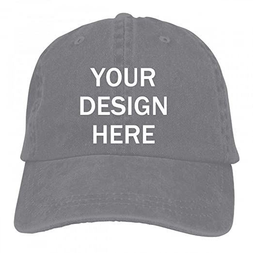 a6d67cfbe Baranovo Custom Cotton Vintage Washed Baseball Cap For Men Classic  Adjustable Plain Hat
