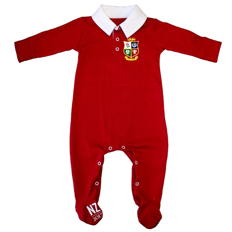 British and Irish Lions Infants Colour Blocked Sleepsuit BIL7022