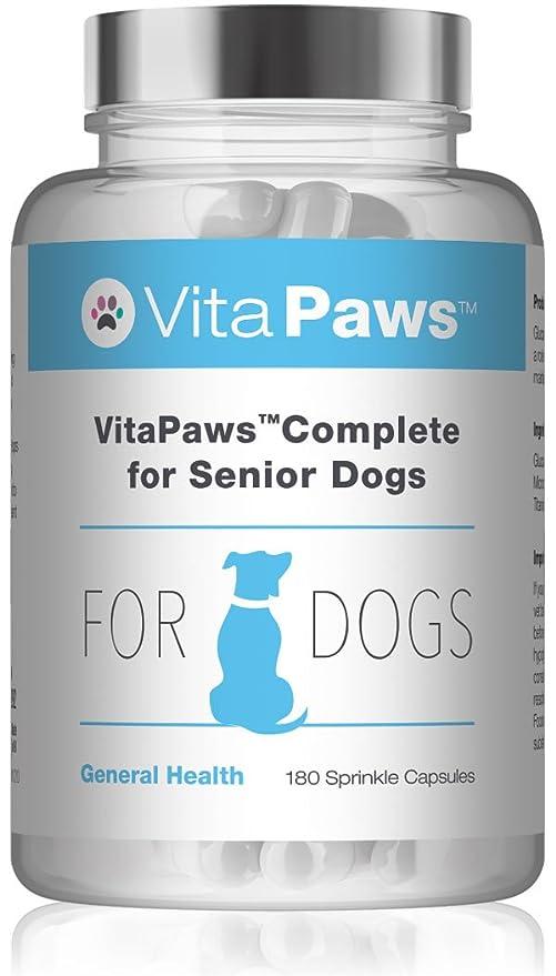 VitaPawsTM Fórmula Completa 180 Cápsulas para espolvorear| Apoyo para la salud general de nuestra mascota |Indicado para perros: Amazon.es: Salud y cuidado ...