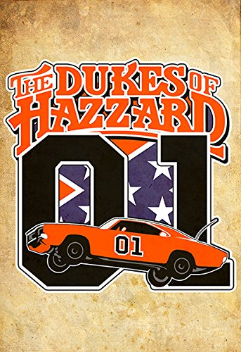 (Dukes of Hazzard Wall Art 002 Collectors 13x19)