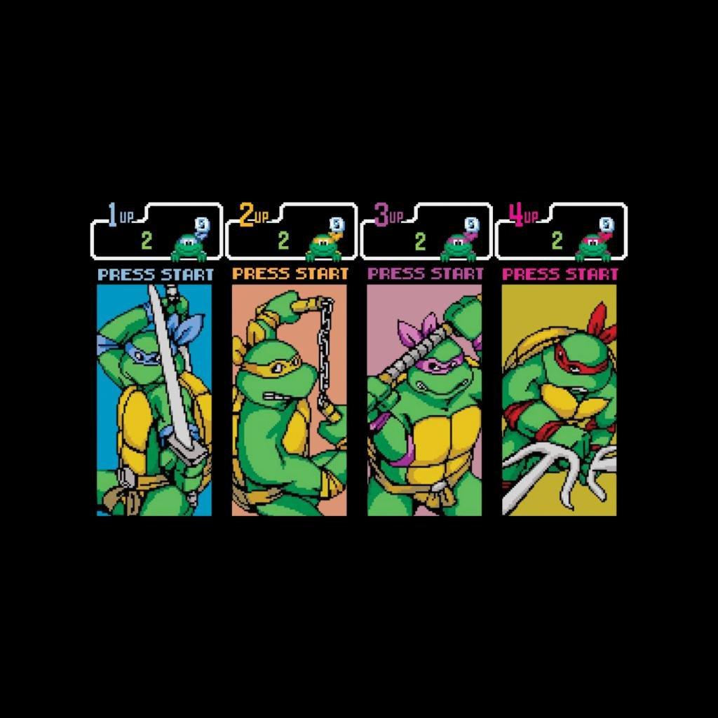Teenage Mutant Ninja Turtles Arcade Game Mens Hooded ...