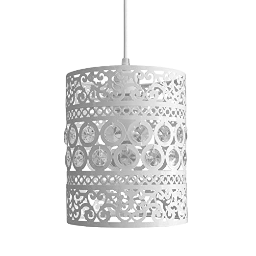 ornate lighting. Modern Ornate Drum Shabby Chic Ceiling Pendant Light Shade Lighting