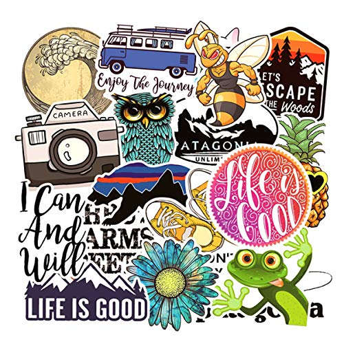Adventure Outdoor Laptop Stickers, Car Bumper Stickers, Motorcycle Bicycle Luggage Decal Graffiti Patches Skateboard Stickers for Teens(Adventure Outdoor) (Laptop Outdoor)