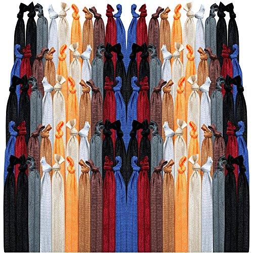 100 pack no crease hair ties - 6