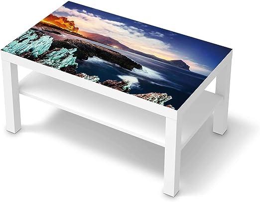 creatisto Möbelfolie passend für IKEA Lack Tisch 90x55 cm I Möbeldeko Möbel Folie Tattoo Sticker I Wohn Deko Ideen für Wohnzimmer, Schlafzimmer