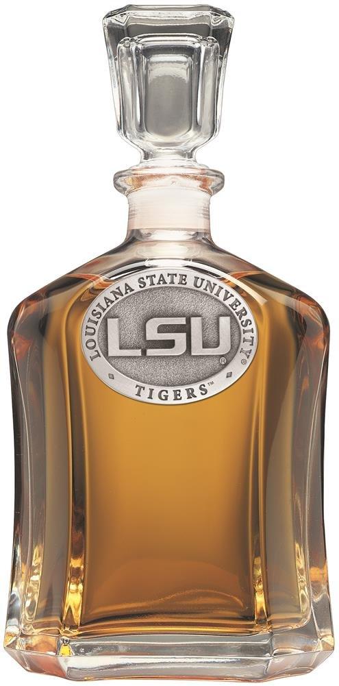 LSU Tigers Capitol Decanter