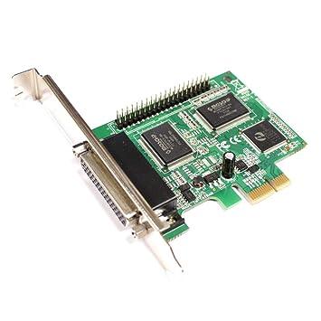 BeMatik - Tarjeta PCI-Express paralelo SPP EPP ECP 4 puertos ...