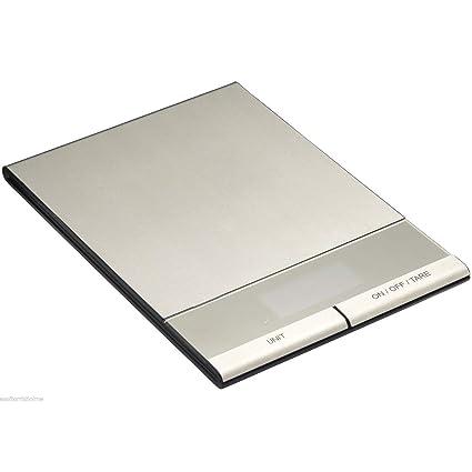 Master Class - Báscula electrónica (5 kg, para alimentos secos y líquidos)
