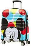 American Tourister Disney Wavebreaker, Spinner, S (55cm-36L), Multicolor (Mickey Close-Up)