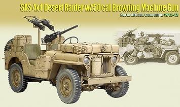SAS 4X4 Desert Raider w/ 50 cal Browing MG North Africa 42